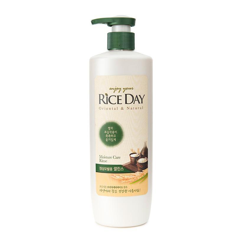 Dầu xả cho tóc suôn mượt CJ Lion RiceDay Moisture Care Rinse 550ml