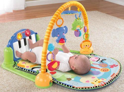 Hình ảnh đồ chơi xúc xắc cho trẻ sơ sinh (tặng kèm pin), thảm nằm chơi cho bé (Hàng cao cấp), do choi xuc xac cho tre so sinh cao cap, tham nam cho tre so sinh phat nhac
