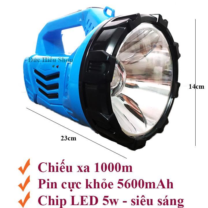 Đèn pin SIÊU SÁNG DP-7051, đèn pin sạc, đèn pin loại to - Đức Hiếu Shop