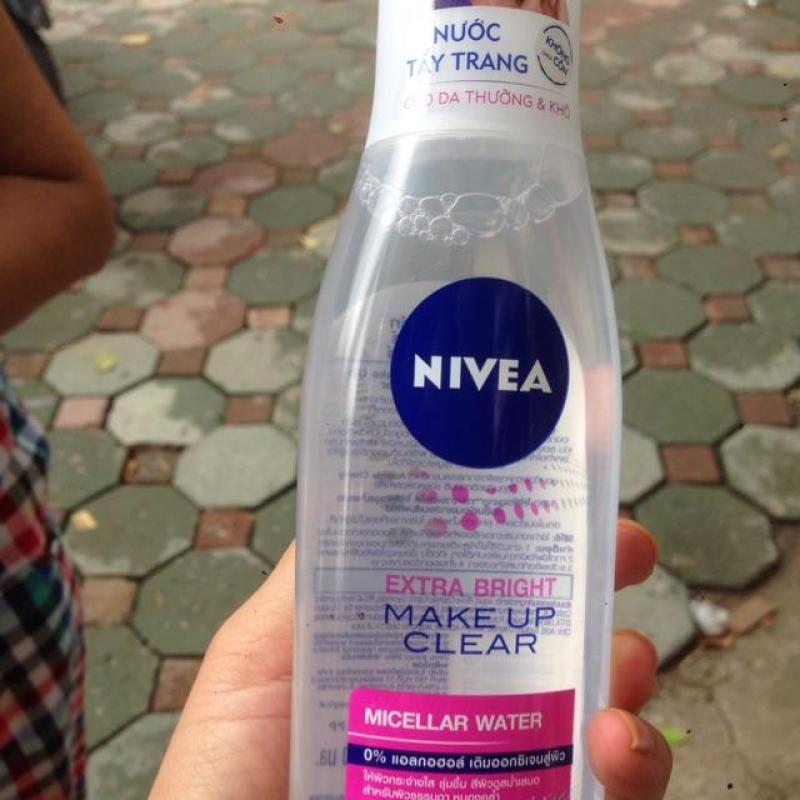Nước tẩy trang Nivea nhập khẩu