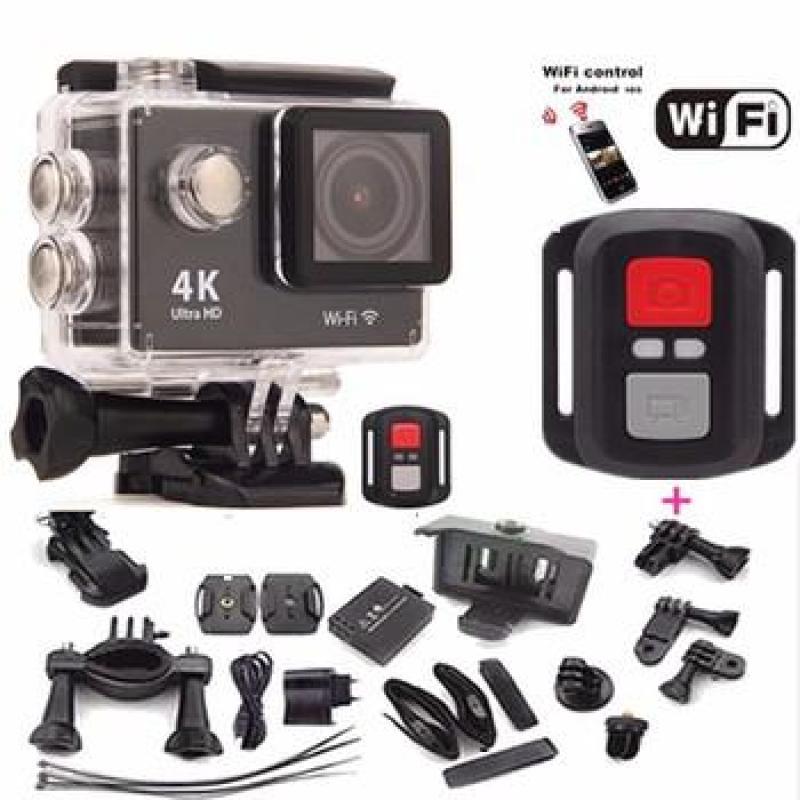 CAMERA HÀNH TRÌNH A19 - Wifi Có remote - Chế độ Chụp hình 4k- Full phụ kiện đi kèm