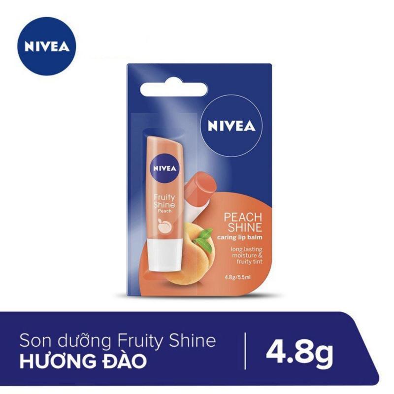 Son Dưỡng Ẩm Hương Đào Nivea 4.8g _ 85031 cao cấp