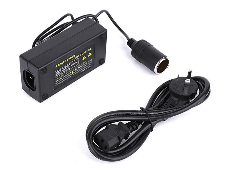 Bộ chuyển nguồn điện 220v sang tẩu ô tô 12v dành cho cách loại bơm, máy bơm lốp công suất lớn