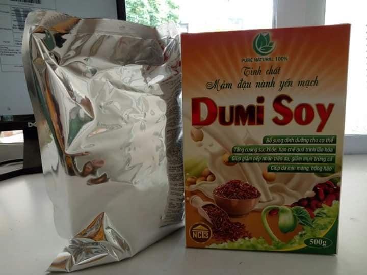 Tinh chất mầm đậu nành Yến mạch - Gạo Nứt Dumisoy 500gr