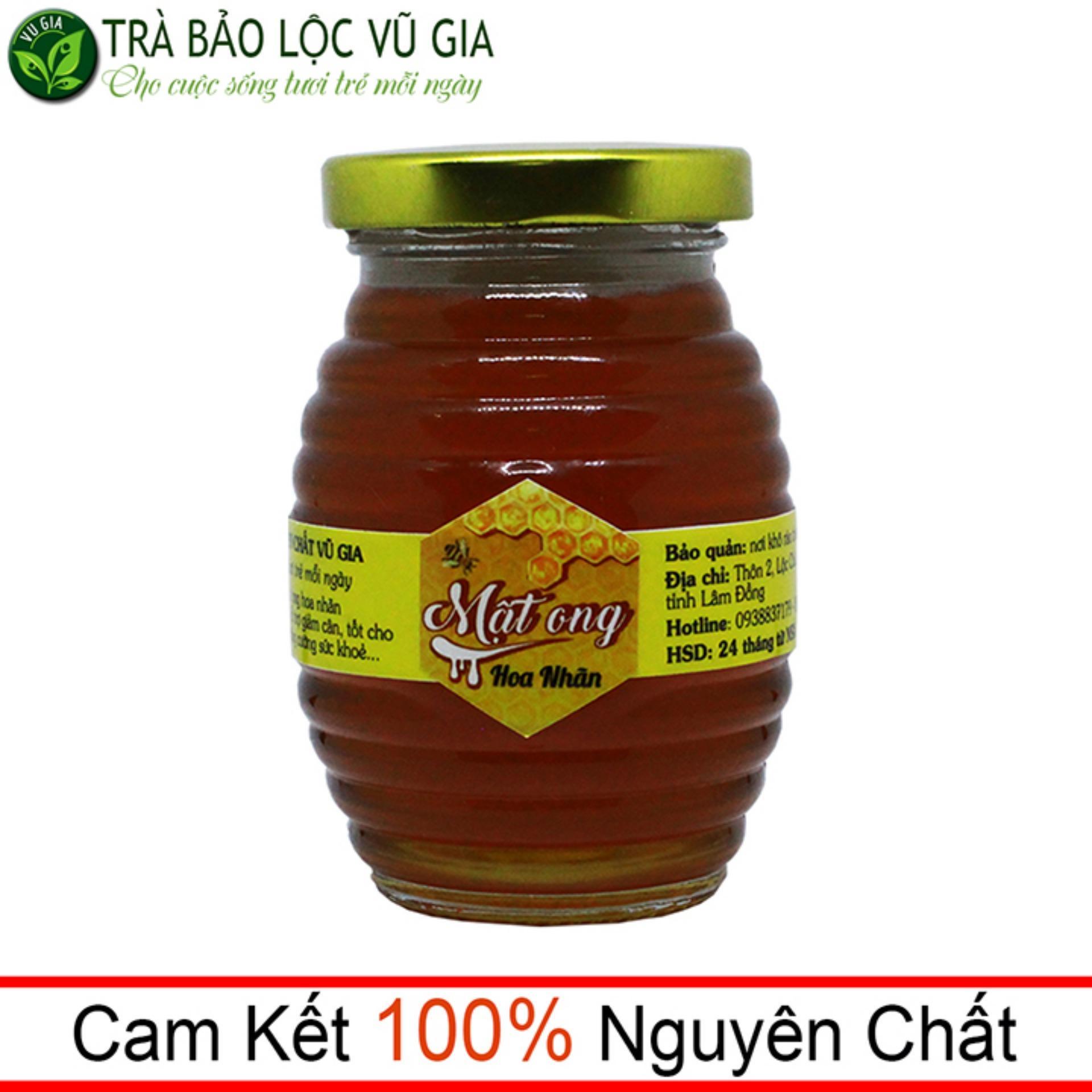 Mật Ong Hoa Nhãn Nguyên Chất VG 200ml nhập khẩu