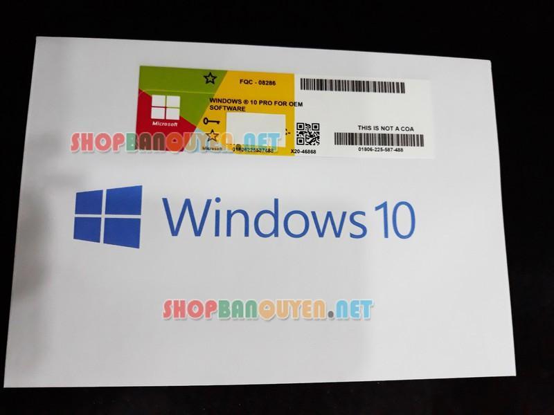 Hình ảnh Windows 10 PRO 32 64 BIT bản quyền vĩnh viễn