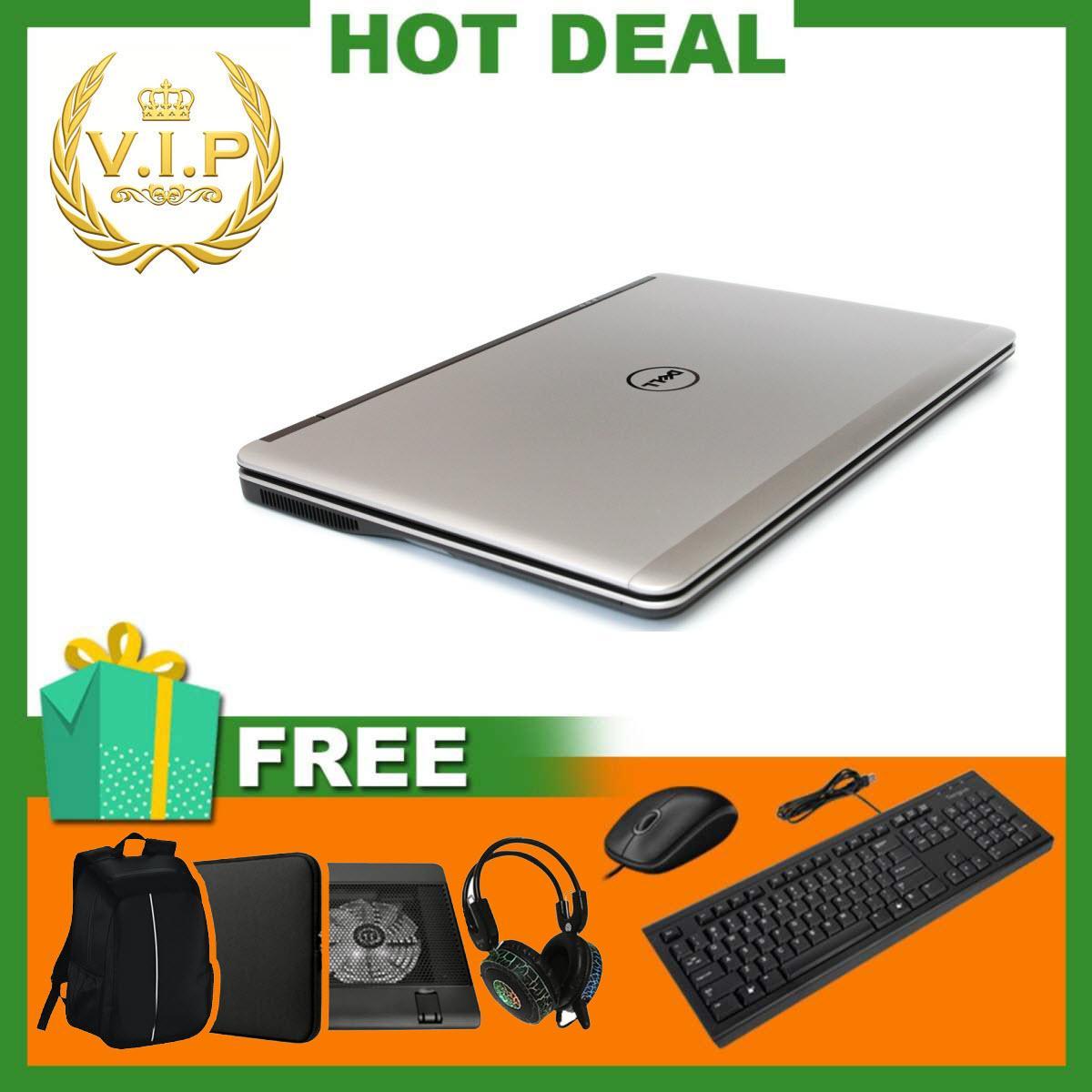 Laptop Dell Latitude E7240 Cảm Ứng ( i5-4300U, 12.5inch, 8GB, SSD 240GB ) + Quà Tặng - Hàng Nhập Khẩu