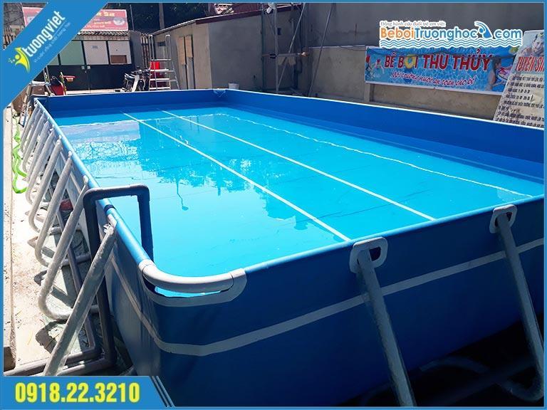 Bể Bơi Di Động Ý Tưởng Việt 347m2
