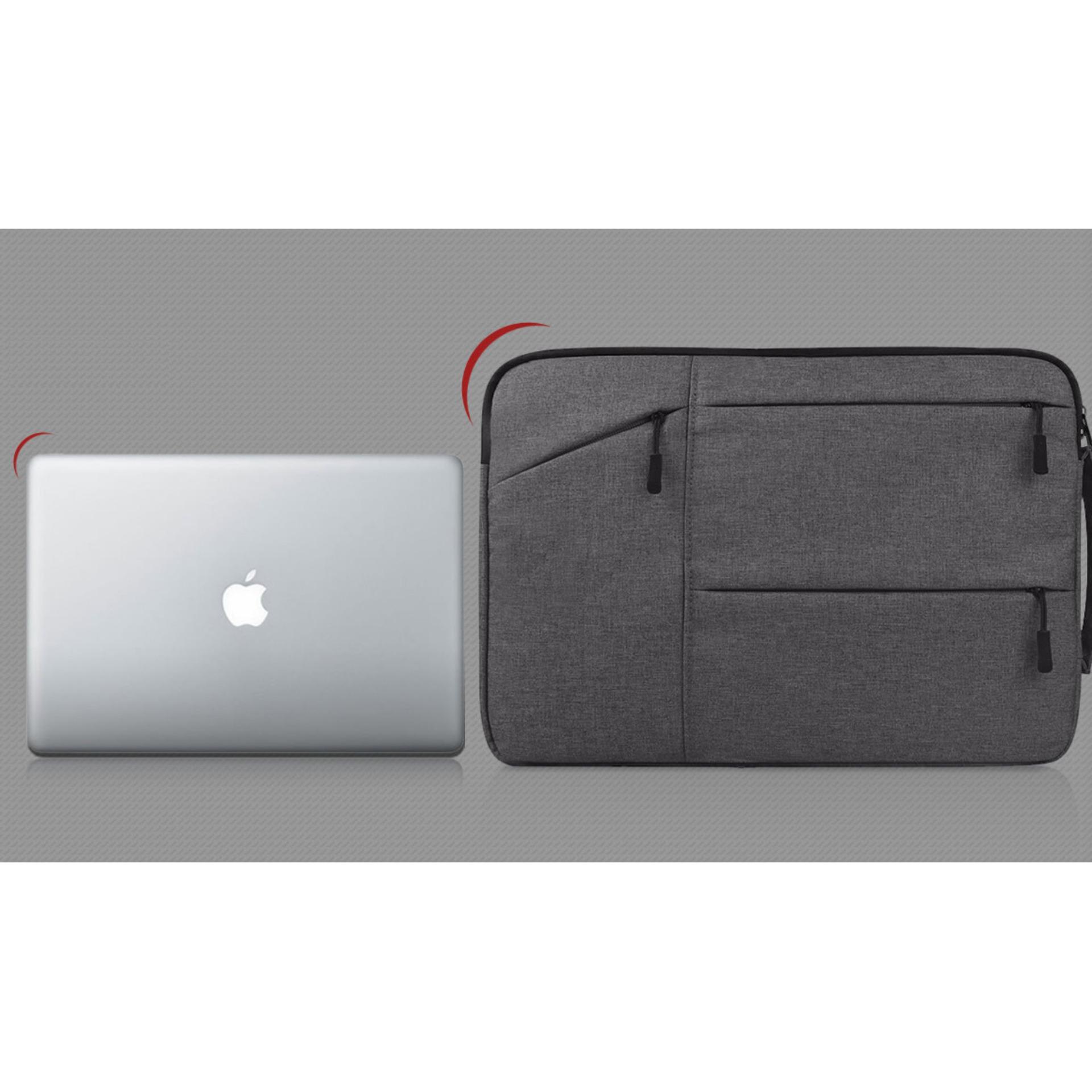 Mã Tiết Kiệm Để Mua Sắm Túi Chống Sốc Laptop 13 Inch Nhiều Ngăn Sang Trọng (màu đen) MLM