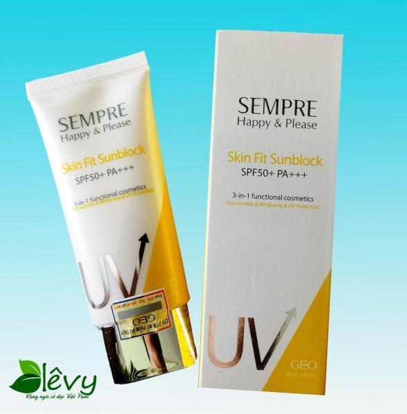 Kem chống nắng UV GEO SEMPRE SPF50+, PA+++