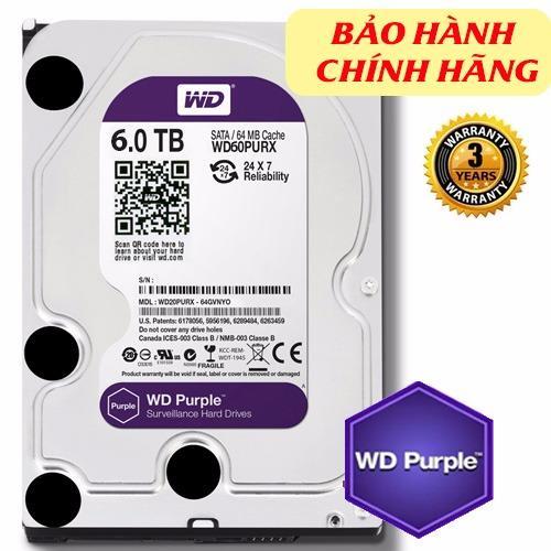 Giá Bán Ổ Cứng Western Purple 6Tb Trong Việt Nam