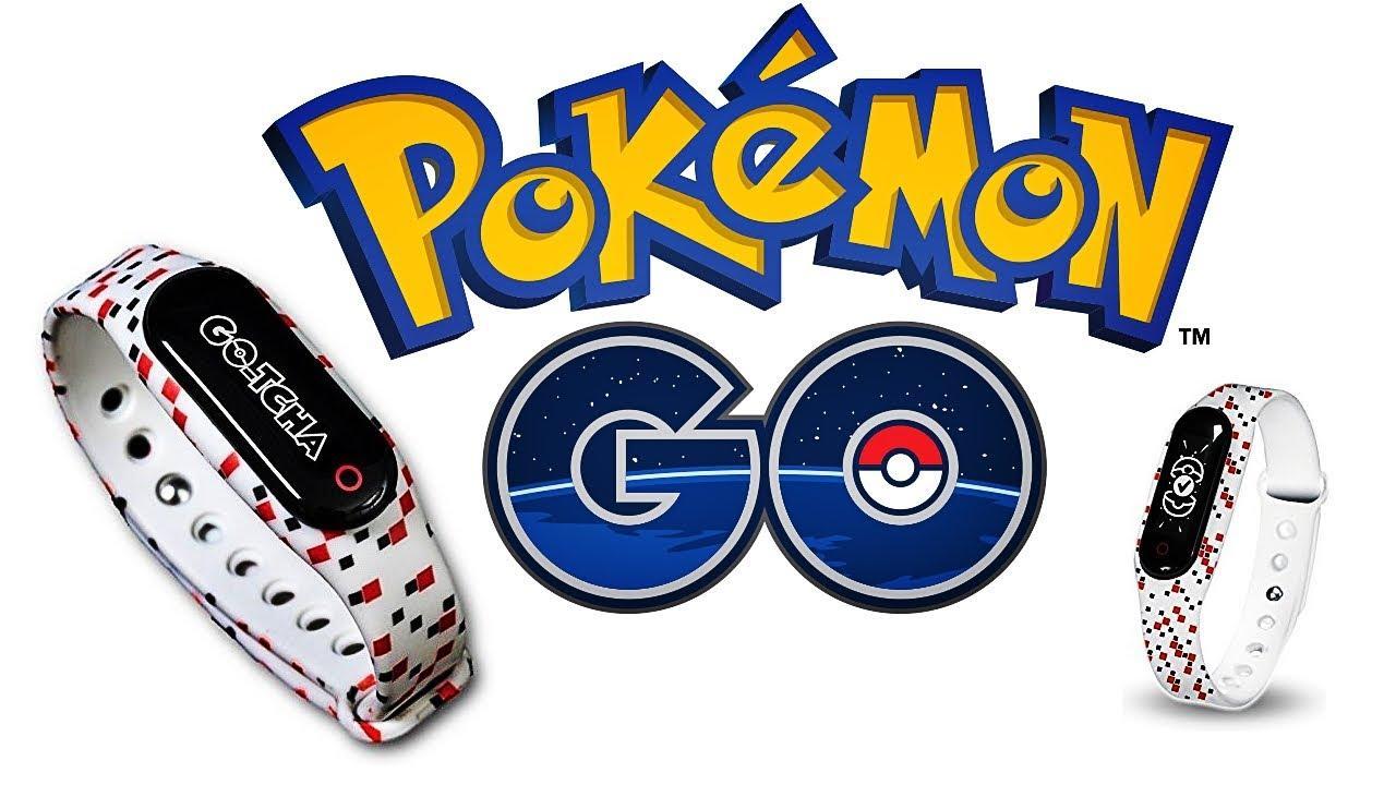 Hình ảnh Vòng đeo tay Gotcha cho Pokémon Go (Go-tcha - Hãng Datel) - Thay thế hoàn hảo hơn cho Pokemon Go Plus - Tặng kèm cốc sạc nhanh 3 cổng USB