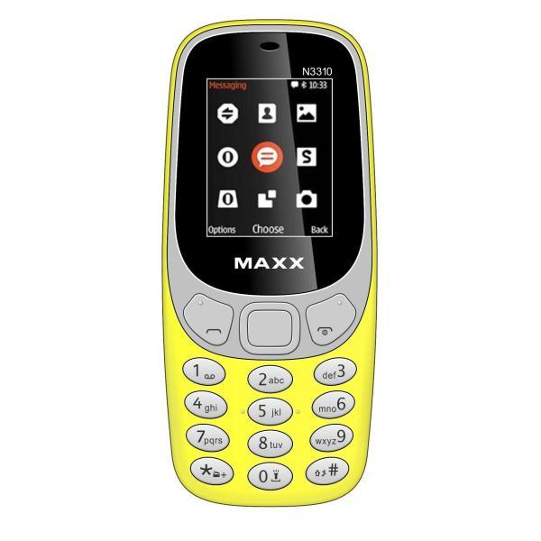 Điện thoại di động MAXX N3310 Classic 2 Sim ( Vàng)