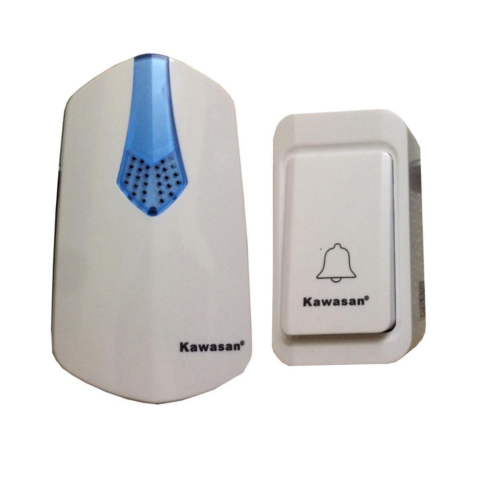 Chuông cửa không dây có nút nhấn không dùng pin và kín nước Kawasan DB817