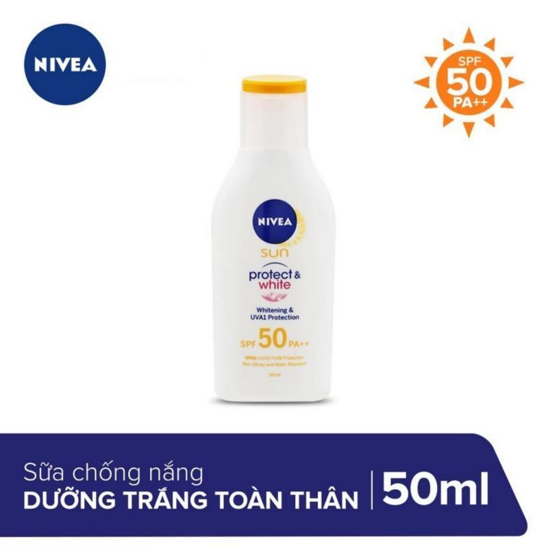 Sữa Chống Nắng Và Dưỡng Trắng Da Toàn Thân Nivea SPF50 PA++ 50ml _ 85797 nhập khẩu