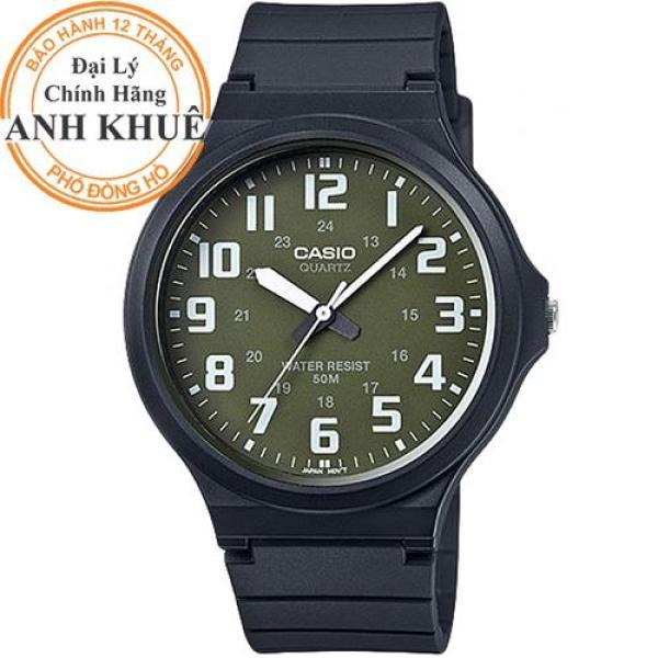 Đồng hồ nam dây nhựa Casio Anh Khuê MW-240-3BVDF bán chạy