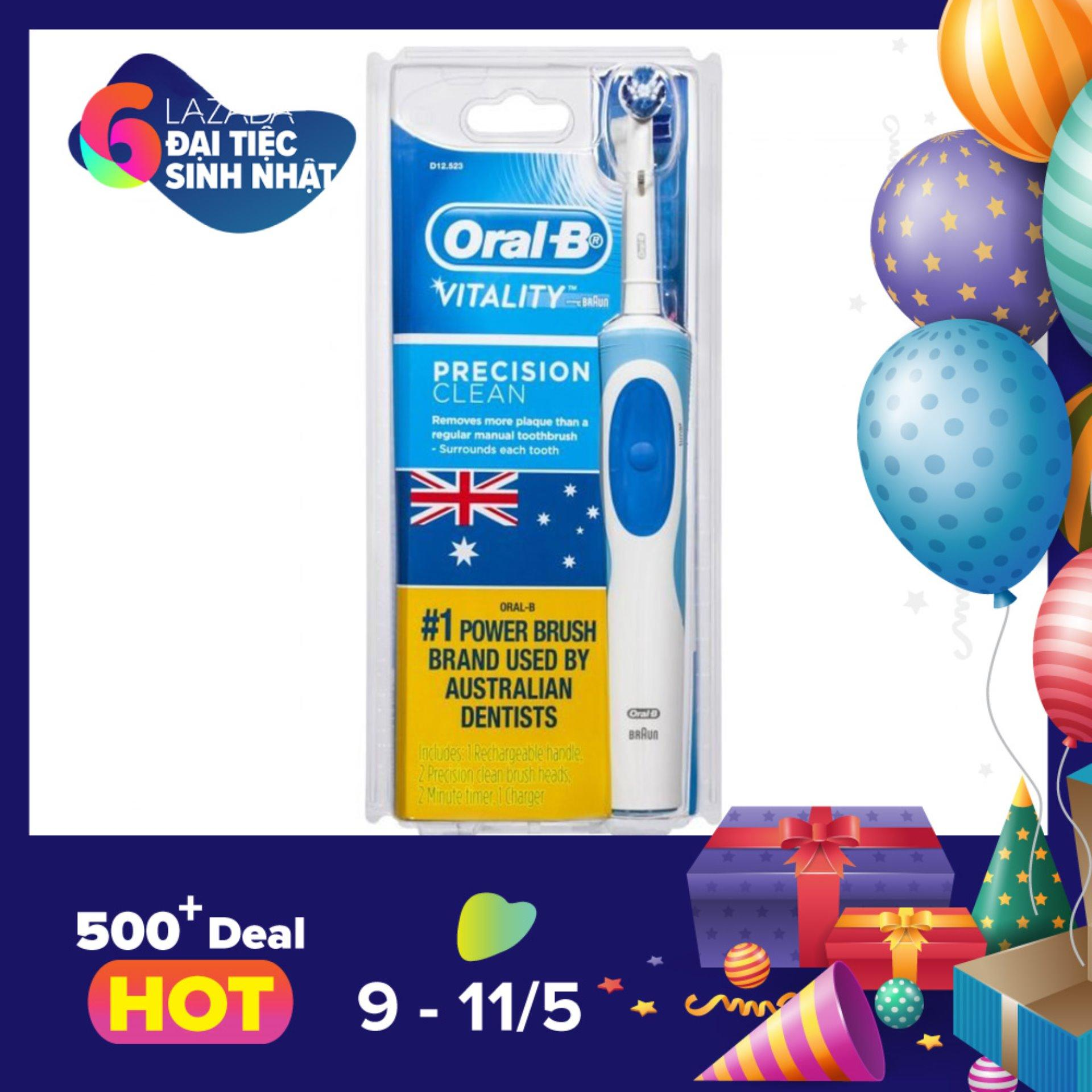 Bán Ban Chải Điện Oral B Vitality Precision Clean Uc Oral B Trực Tuyến