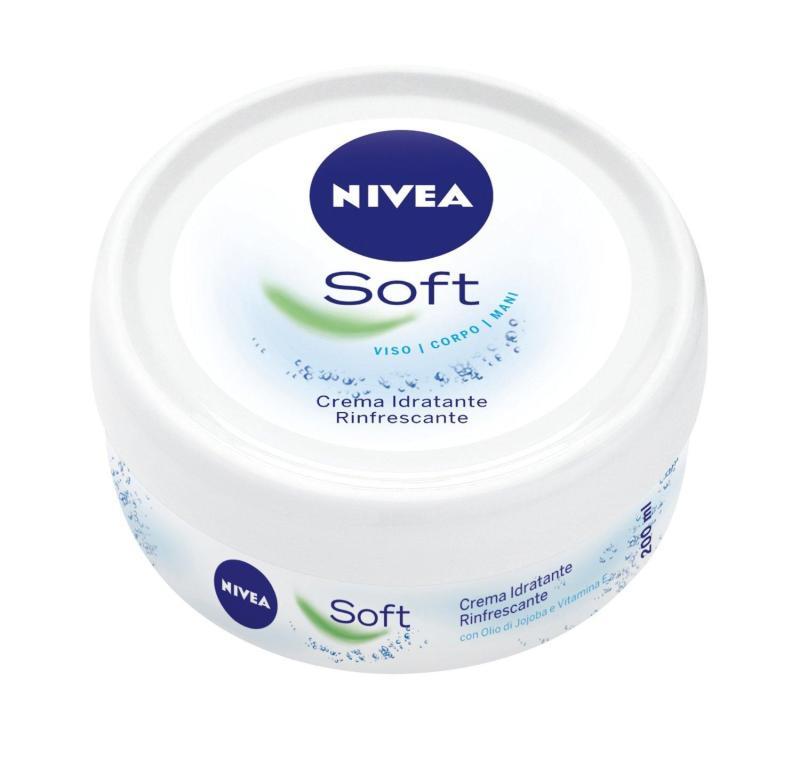 Kem dưỡng ẩm Nivea Soft 200ml - 100% Nhập Khẩu Đức