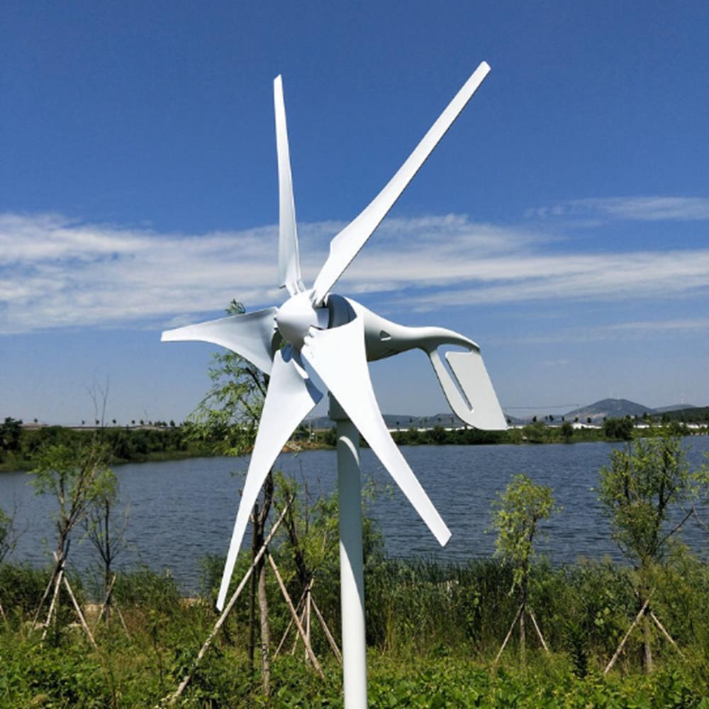 Tua bin gió trục ngang 5 cánh công suất 600W