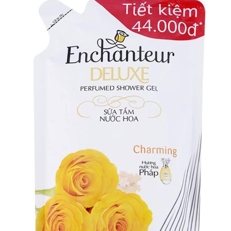 Sữa Tắm Hương Nước Hoa Enchanteur Charming Túi 450G nhập khẩu