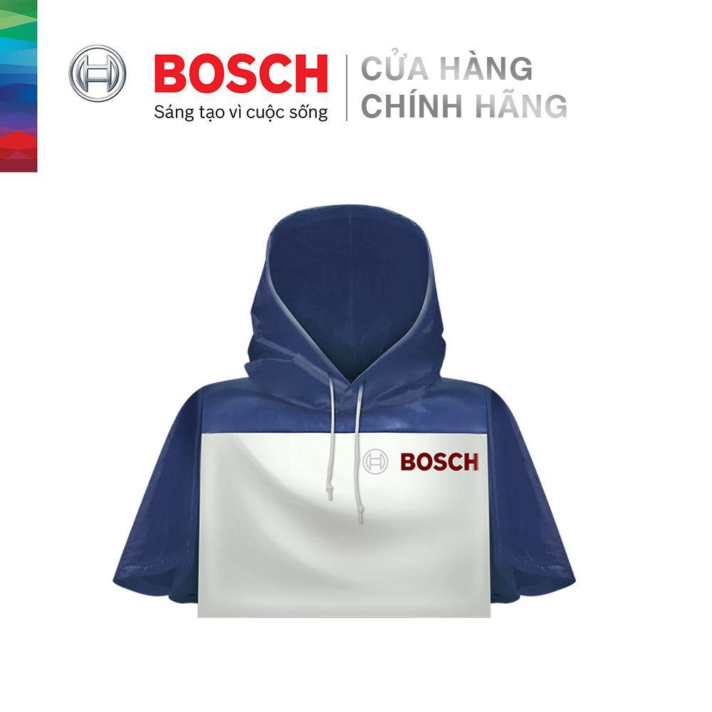 [Quà tặng không bán] Gift-Áo mưa Bosch