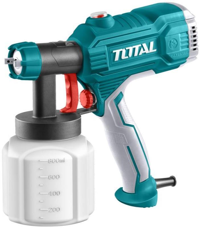 450W MÁY PHUN SƠN DÙNG ĐIỆN TOTAL TT3506 + 1 Bút thử điện Total THT291408 (Combo)