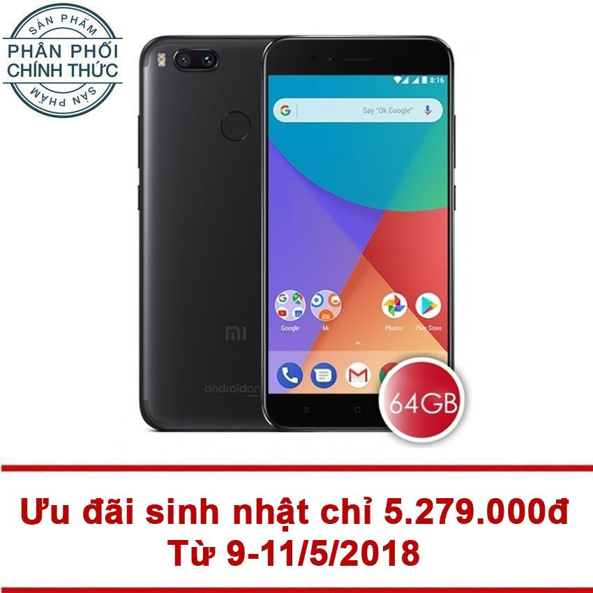 Cửa Hàng Xiaomi Mi A1 64Gb Ram 4Gb Đen Hang Phan Phối Chinh Thức Trong Việt Nam