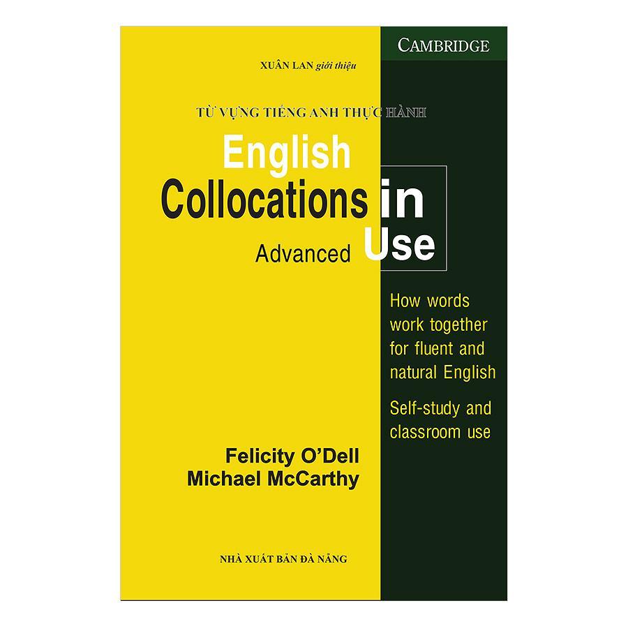 Mua Từ Vựng Tiếng Anh Thực Hành - English Collocation In Use