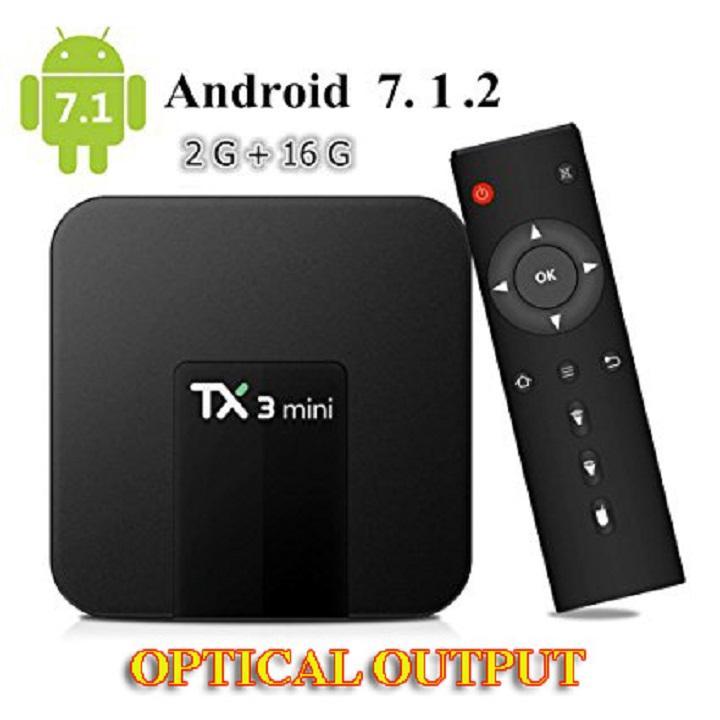 Bảng giá Android TV box TX3 Mini  2G Ram  16G rom có cổng quang Điện máy Pico