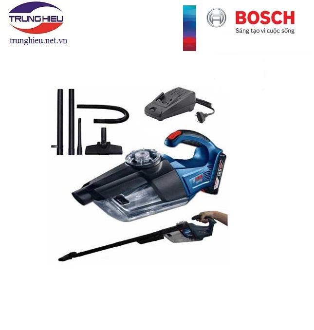 Máy hút bụi dùng pin Bosch GAS 18 V-1 SET 1 pin 3.0Ah + 1 sạc