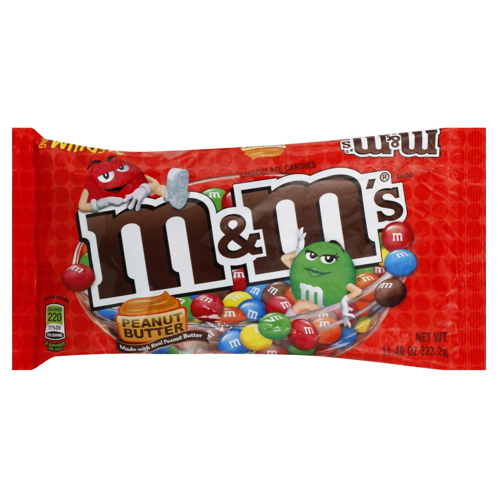 Hình ảnh Socola M&M Peanut Milk Chocolate 323.2g
