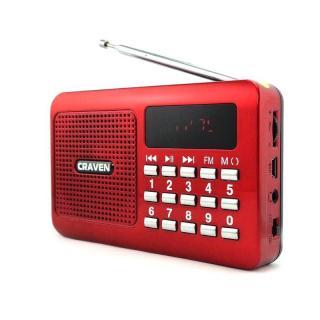 Loa USB Thẻ Nhớ và RADIO FM Craven CR-16 thumbnail