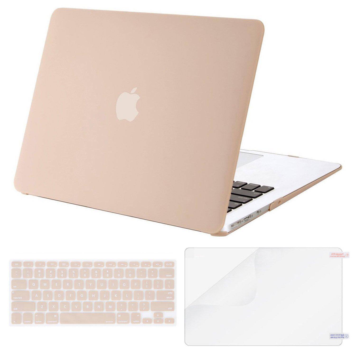 Bảng giá MacBook Air 13 Inch Matte Plastic Pattern Hard Case Shell with Keyboard Cover & Screen Protector for MacBook Air 13 Inch (Model: A1369/A1466) Phong Vũ