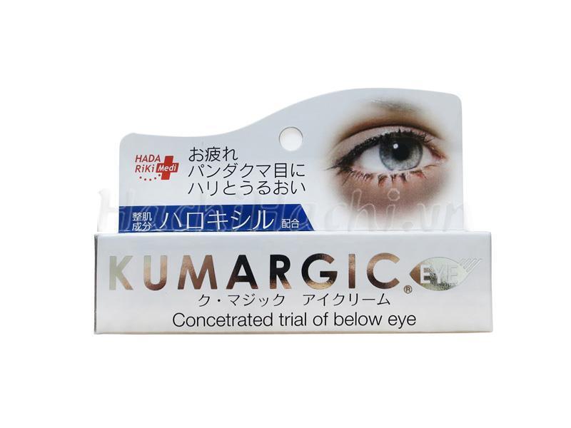 Kem Trị Thâm Quầng Mắt Kumargic Của Nhật, Mẫu mới
