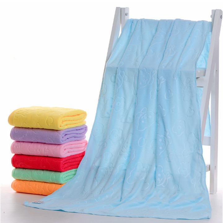 Combo 5 khăn tắm siêu mềm kích thước 70x140cm