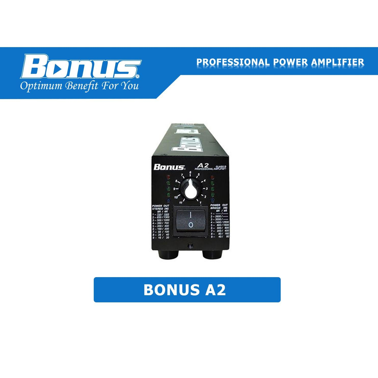 Cục Đẩy Power Amplifier Bonus Audio A2 Oem Rẻ Trong Hồ Chí Minh