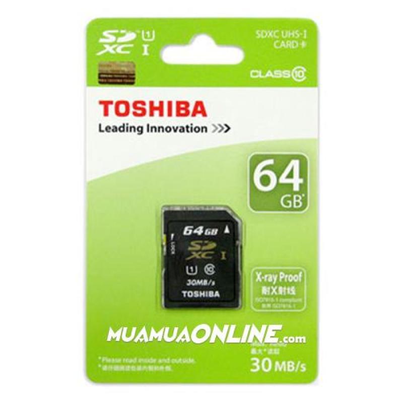 THẺ NHỚ TOSHIBA 64G CLASS 10 THẺ NHỎ