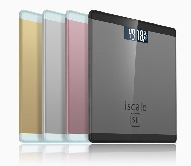 Hình ảnh Cân sức khỏe điện tử Iscale SE Max 180kg - Tặng kèm thước dây