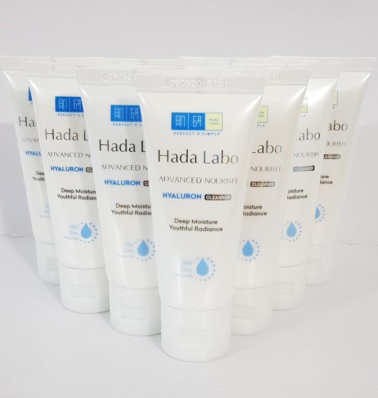 Combo 10 tuýp Kem Rửa Mặt Dưỡng Ẩm Cho Mọi Loại Da Hada Labo Advanced Nourish Cream Cleanser - 25g (Tặng 1 tuýp cùng loại) nhập khẩu