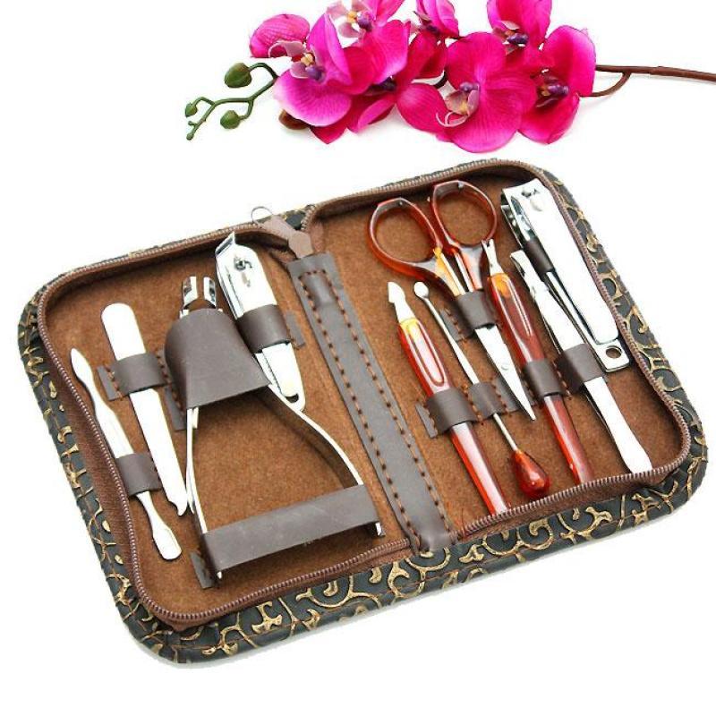 Bộ dụng cụ làm móng 10 món đa năng tiện dụng