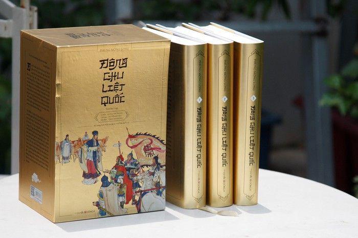 Mua Bộ Hộp Đông Chu Liệt Quốc (Trọn Bộ 3 Tập)