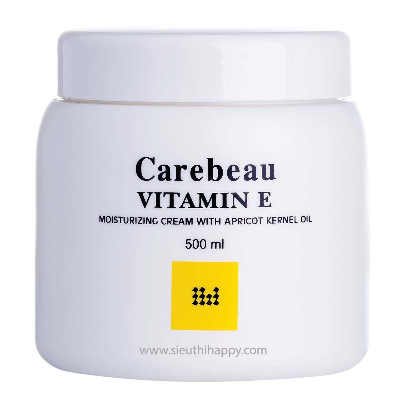 Kem dưỡng da toàn thân Carebeau Body Cream Viatmin E  500ml Thái Lan tốt nhất