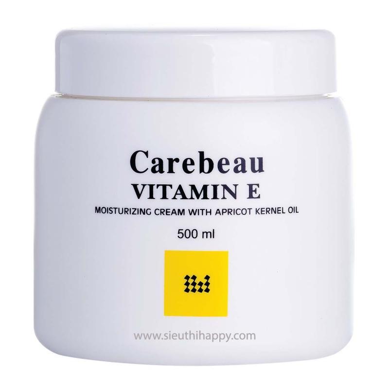 Kem dưỡng da toàn thân Carebeau Body Cream Viatmin E  500ml Thái Lan nhập khẩu