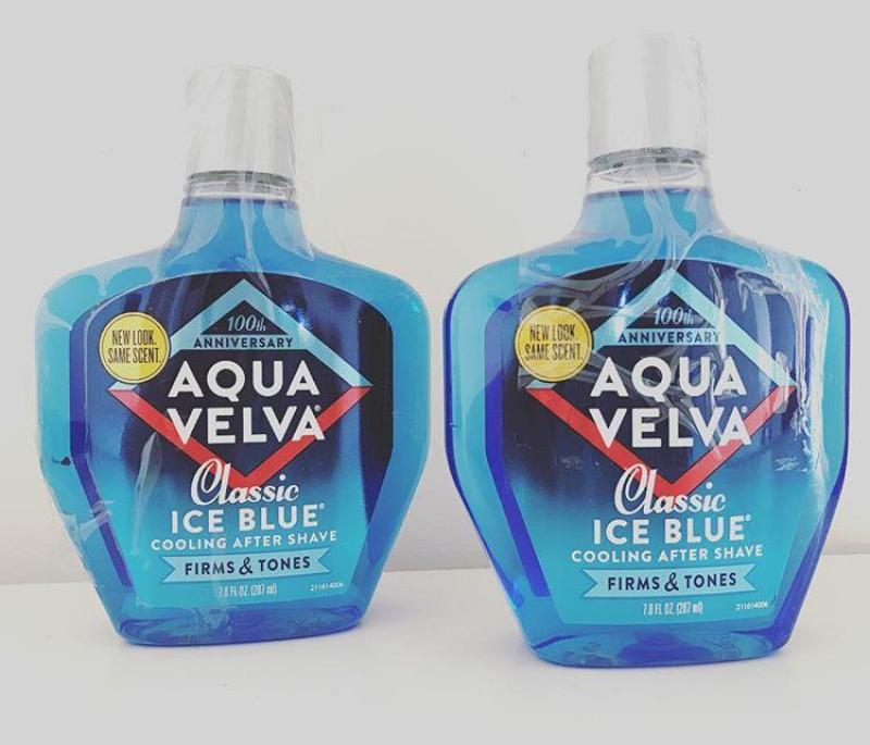 Nước dưỡng sau khi cạo râu Aqua Velva Classic Ice Blue Cooling after shave 207ml - hàng nhập Mỹ
