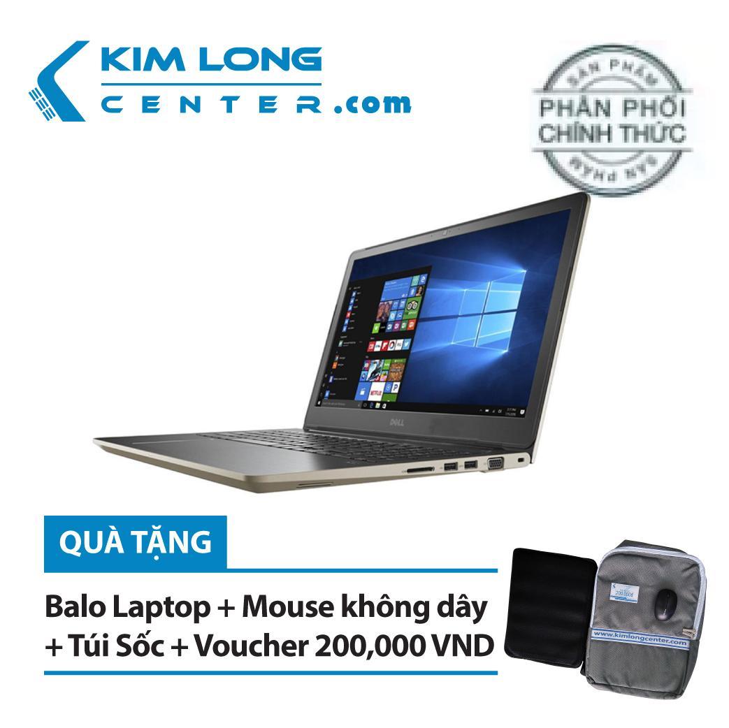 Laptop Dell Vostro 5568 i7 7500U 15.6FHD DOS - Hàng Nhập Khẩu