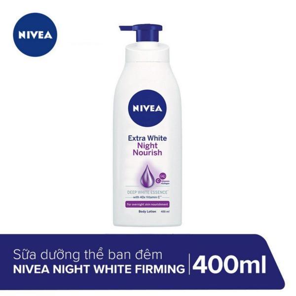 Sữa dưỡng thể dưỡng trắng & săn chắc da Nivea ban đêm 400ml - 88126 giá rẻ