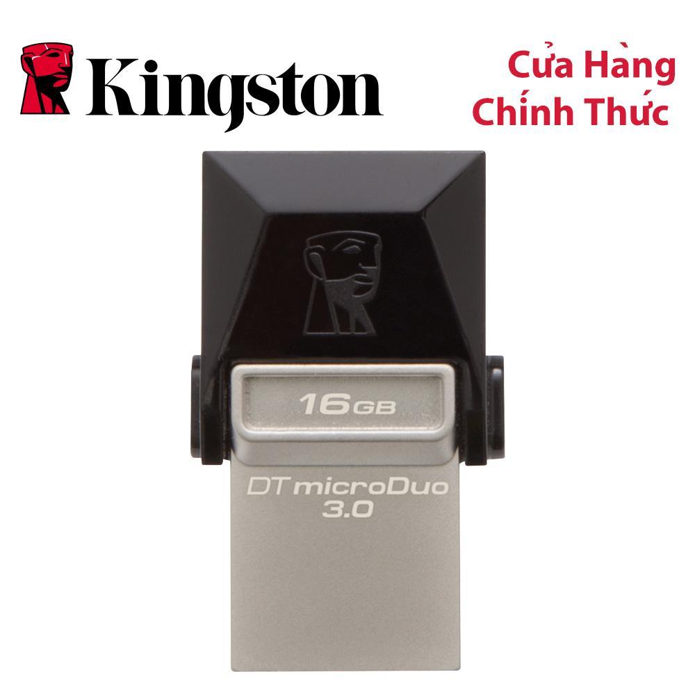 USB Kingston DataTraveler microDUO 16GB USB 3.0 OTG (DTDUO3/16GB)