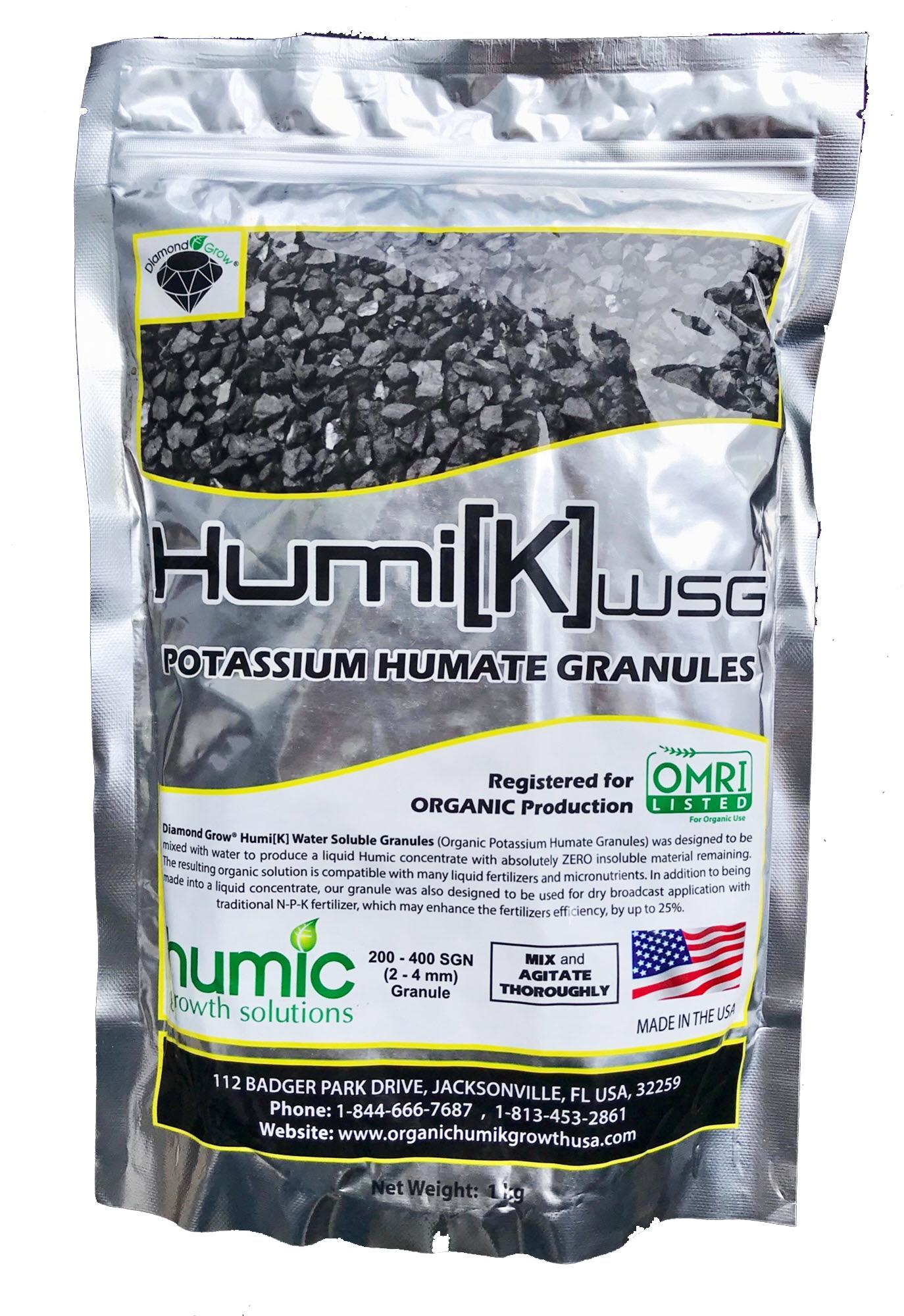 Phân hữu cơ vi sinh HumiK WSG Acid Humic 99
