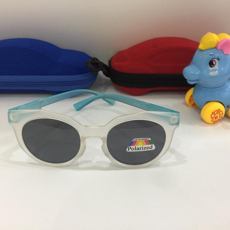 Mua [GIÁ KỊCH SÀN] Kính mắt siêu đáng yêu với chất liệu mặt kính cao cấp chống lóa dành cho trẻ em trên 1 tuổi B154-118 + Tặng hộp đựng kính ngộ nghĩnh