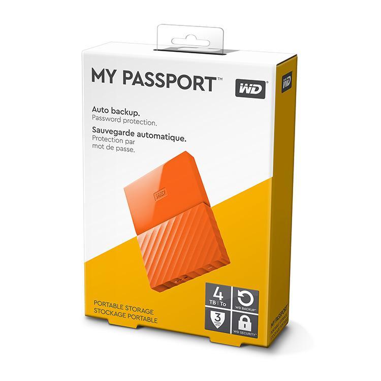 Ổ cứng di động Western Digital My Passport 4TB